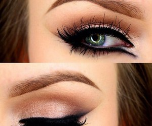 eye, fashion, and makeup image