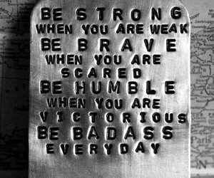 qoutes, brave, and inspiration image