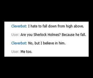 sherlock and cleverbot image