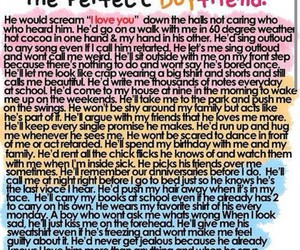boyfriend, love, and perfect image