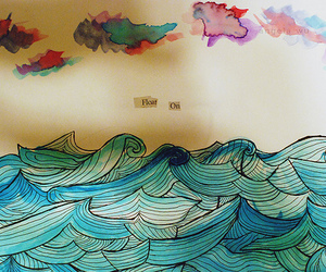 art and waves image