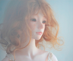 doll, pretty, and red hair image