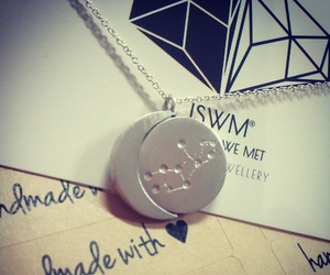 constellation, necklace, and love image