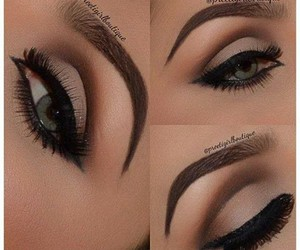 brown, cafe, and make up image