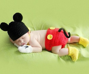 babies and mickey image
