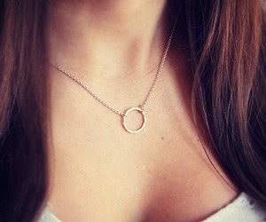beauty, jewelry, and infinity image