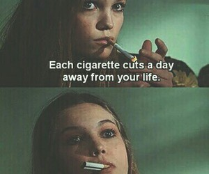 cigarette, grunge, and life image