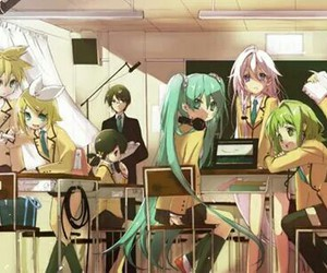 miku, vocaloid, and ia image