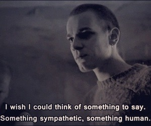 trainspotting, quotes, and human image