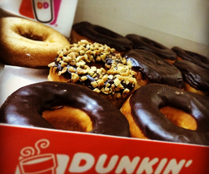 donut, dunkin, and yummy image