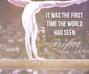 gymnastics, nadia comaneci, and perfect image