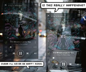 edit, Lyrics, and a day to remember image
