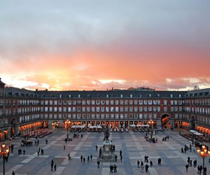 Cityscapes, beautiful, and madrid image