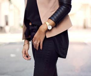 fashion, girl, and watch image