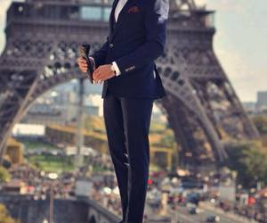 paris, man, and suit image