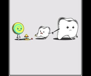 funny, teeth, and cute image