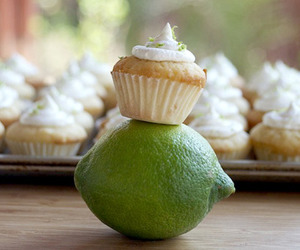 cupcake, fruit, and dessert image