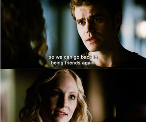 steroline, the vampire diaries, and stefan salvatore image