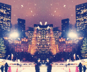 christmas, Effects, and centralpark image
