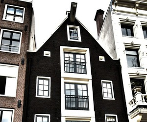house, architecture, and black image