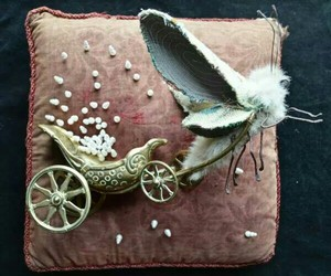 carriage, gold, and magic image