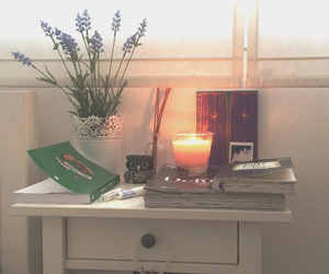 candle, furniture, and home image