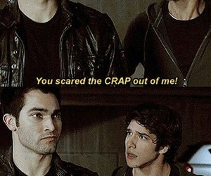 teen wolf, funny, and scott mccall image