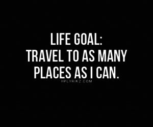 travel, goal, and quote image