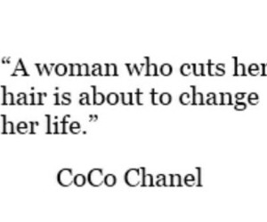 chanel, coco chanel, and hair image