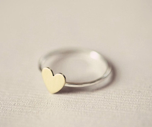 heart, ring, and style image