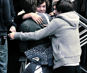 one direction, hug, and cute image