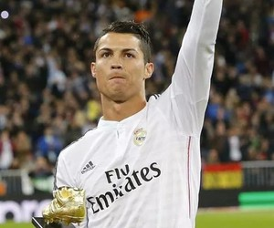 cristiano ronaldo, real madrid, and golden boot image