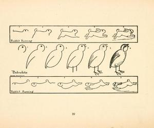 rabbit, vintage, and how to draw a bird image