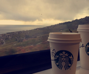 beatiful, capuccino, and clouds image