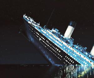 titanic, movie, and ship image