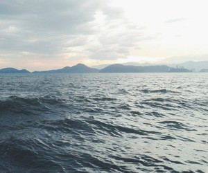 grunge, ocean, and pale image