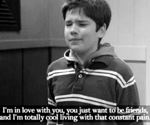 love, icarly, and pain image