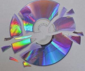 cd, grunge, and broken image