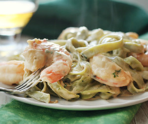 creamy, delicious, and dinner image