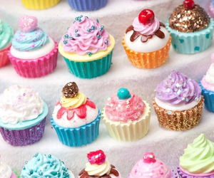 candy, cute, and cupcake image