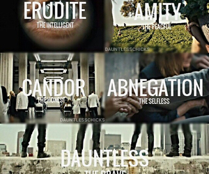 likes, divergent, and four image