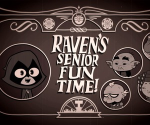 lol, raven, and cute image