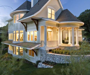 house, rich, and cute image