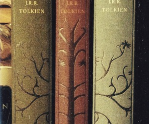 book, lord of the rings, and tolkien image