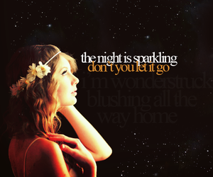 Taylor Swift, enchanted, and Lyrics image