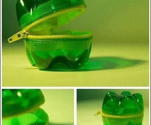 bottle, green, and diy image