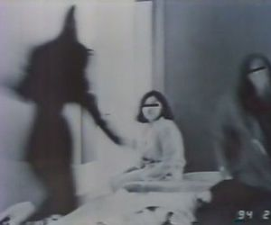 black, girl, and horror image