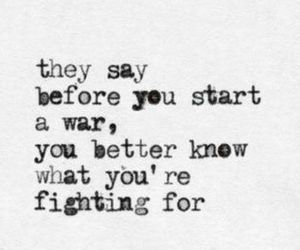 quote, war, and fight image