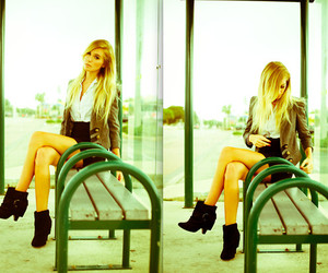 :3, blonde, and fashion image