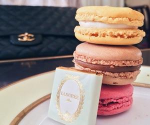 food, sweet, and macarons image